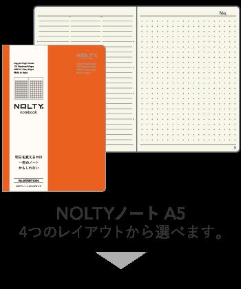 NOLTYnotebook A5