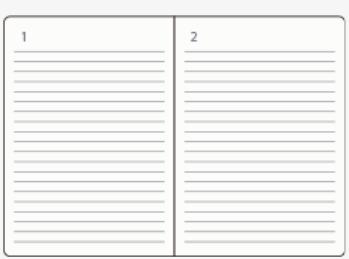 1ページ1日の手帳タイプ