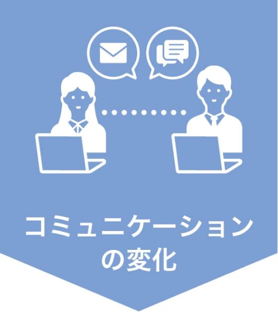 コミュニケーションの変化