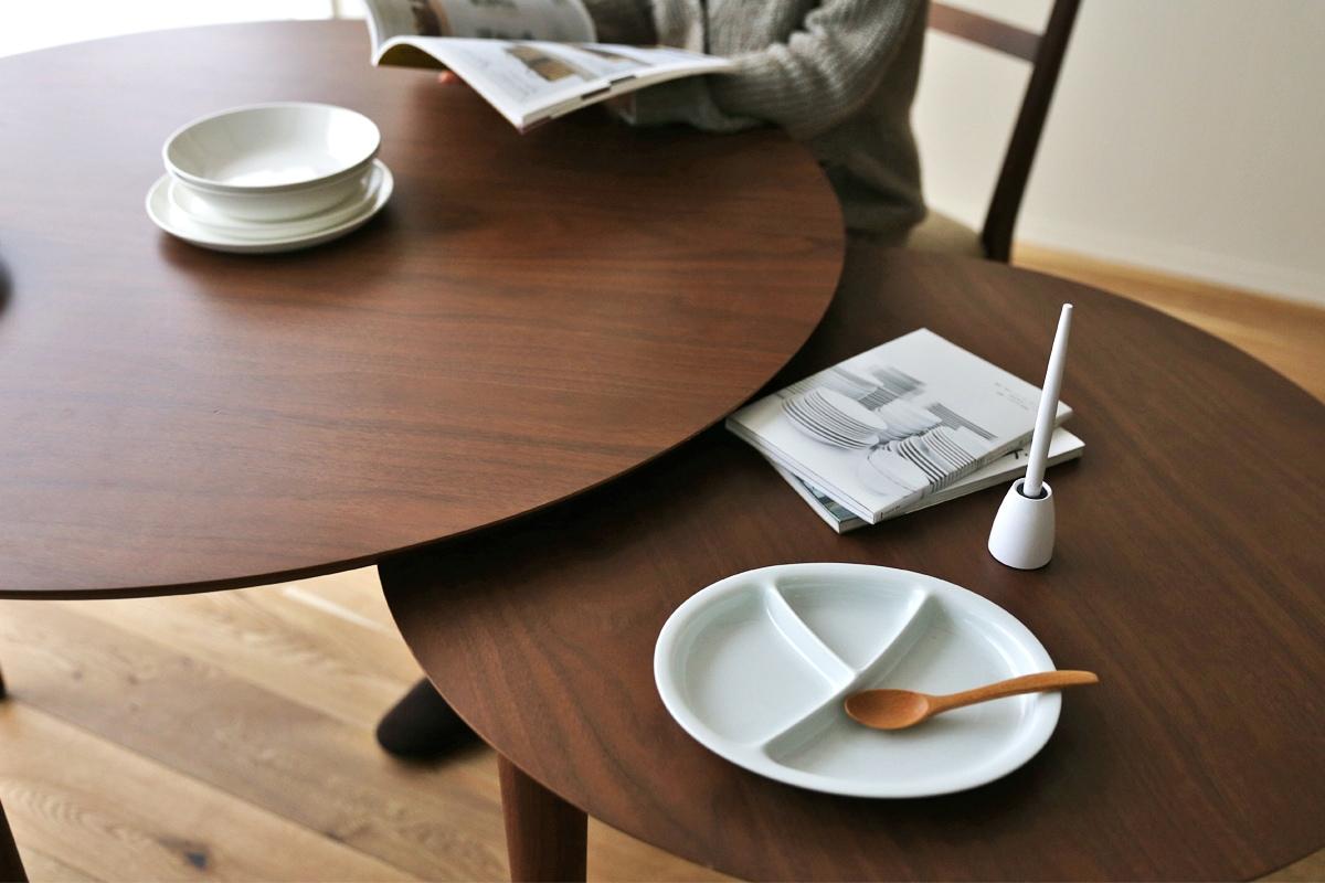 ホワイトオークのダイニングテーブルコーディネート