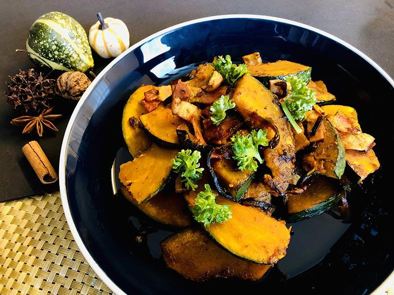 かぼちゃのバター昆布炒めで秋の味覚を楽しむ!