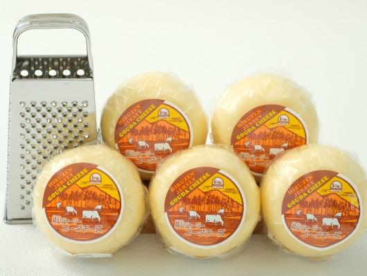 蒜山ジャージーゴーダチーズたっぷりセット