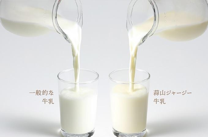 蒜山ジャージー牛乳