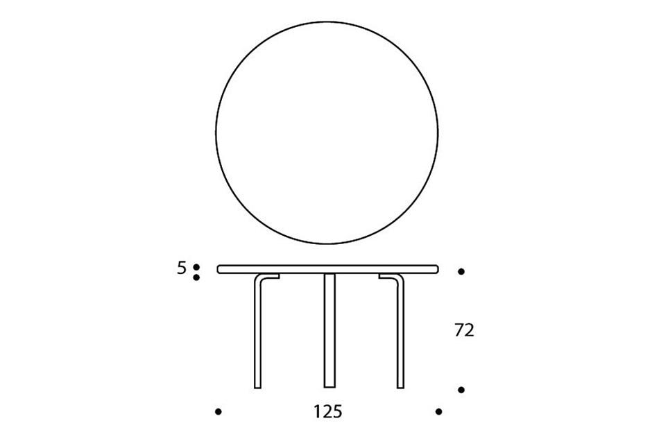 91 TABLE/Artek(91 テーブル/アルテック)