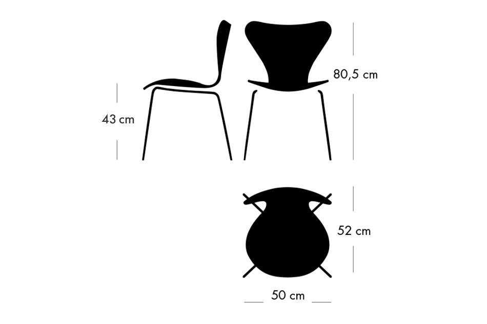 Seven Chair Full Upholstered 3107 / FRITZ HANSEN(セブンチェア フルパディング レザー 3107 / フリッツ・ハンセン)