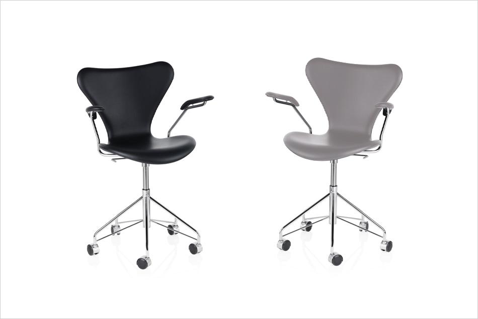 Seven Chair Full Upholstered 3117 / FRITZ HANSEN(セブンチェア フルパディング レザー 3117 / フリッツ・ハンセン)