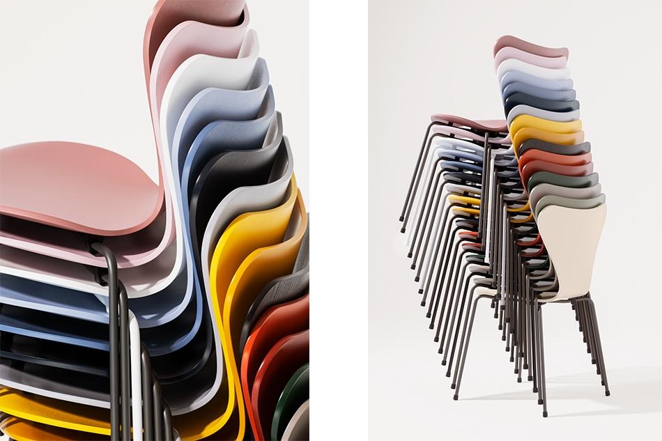 Seven Chair Colored Ash/FRITZ HANSEN(セブンチェア カラードアッシュ/フリッツ・ハンセン)