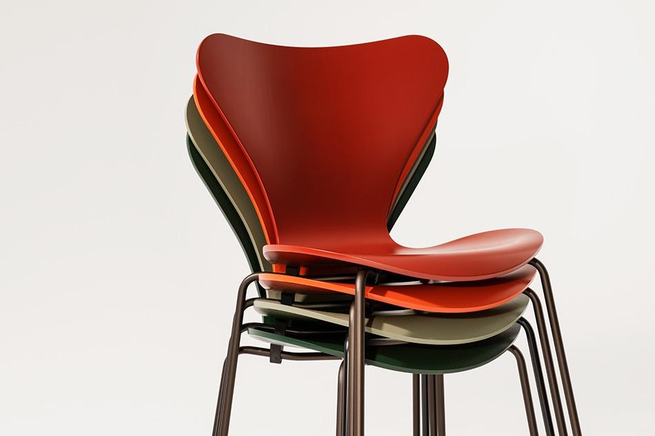 Seven Chair Lacquer/FRITZ HANSEN(セブンチェア ラッカー/フリッツ・ハンセン)