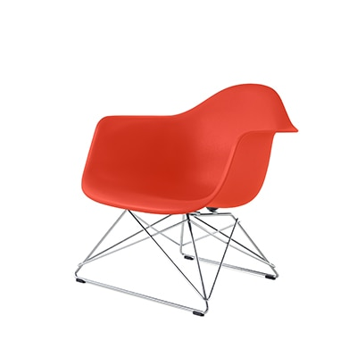 Eames Plastic Armchair Low Wirebase