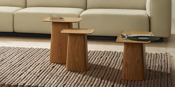 Wooden Side Table (Vitra)