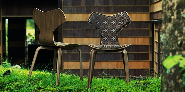 GRAND PRIX CHAIR Limited Edition (FRITZ HANSEN)