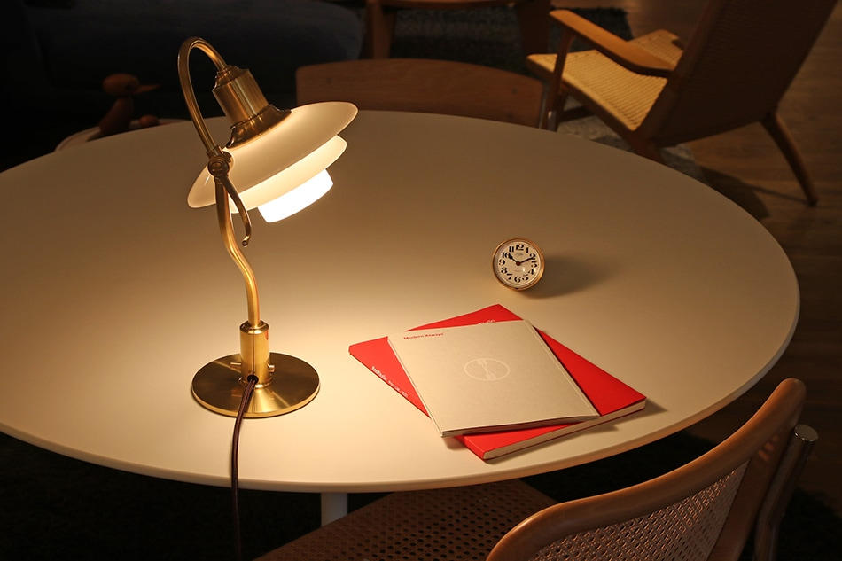 PH 2/2 The Question Mark Table Lamp / Louis Poulsen(PH 2/2 クエスチョンマーク テーブルランプ / ルイス ポールセン)