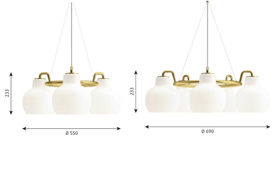 VL Ring Crown Pendant/Louis Poulsen(ブイエル リングクラウン ペンダント ランプ/ルイスポールセン)