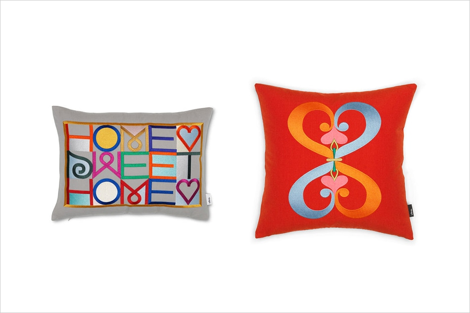 Embroidered Pillows / Vitra(エンブロイダード ピロー/ヴィトラ)