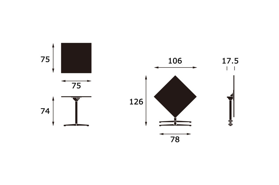 Super Fold Table/Vitra(スーパー フォールド テーブル/ヴィトラ)