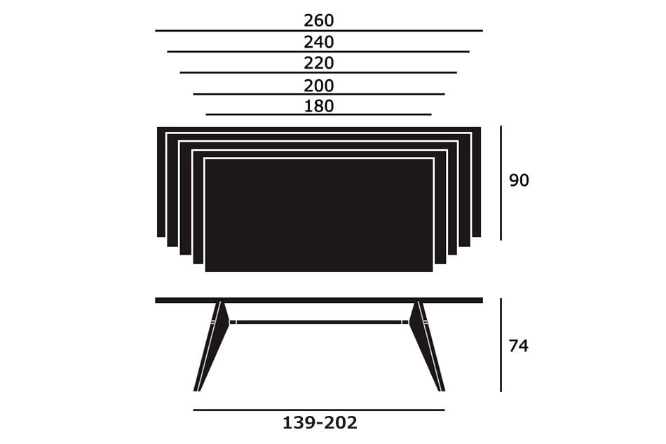 Table Solvay(テーブル ソルヴェイ) / Vitra(ヴィトラ)