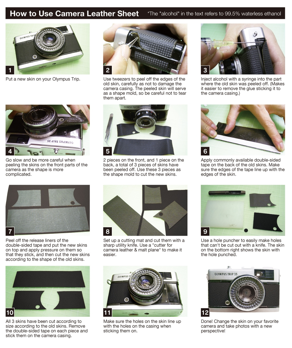 How to use Camera leather