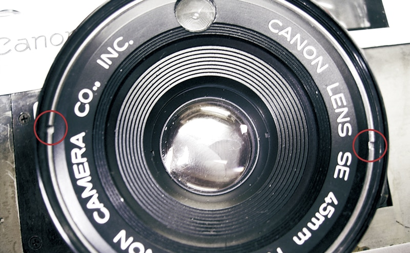 Detach Lens Ring