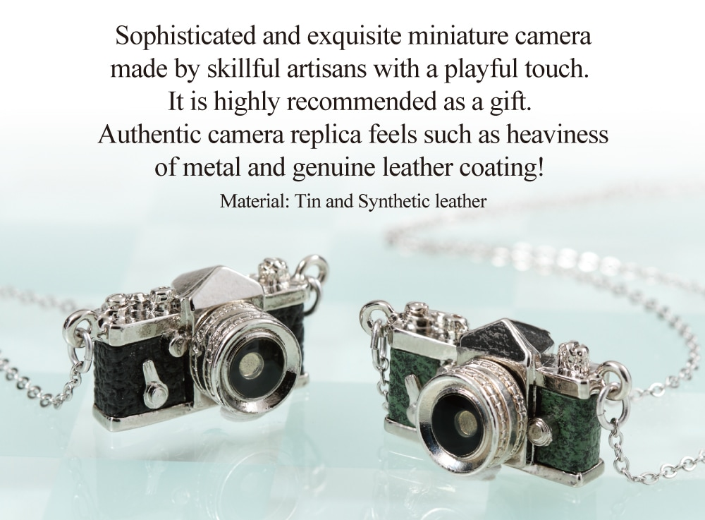 Miniature camera Necklace