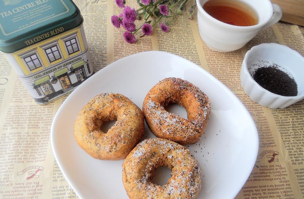 紅茶のドーナツ