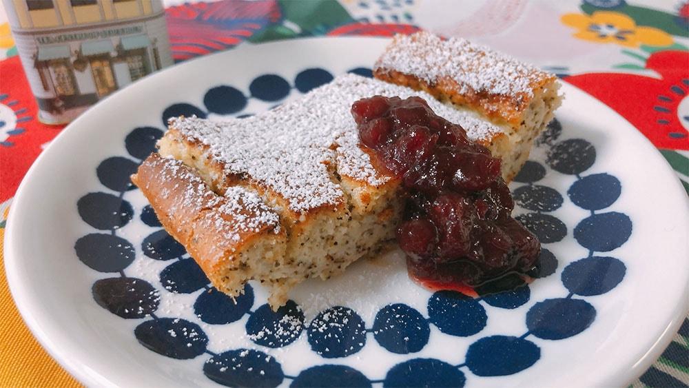 北欧風チーズケーキ=オストカーカ