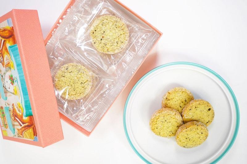 写真:西光亭 北欧紅茶のクッキー 個包装にすることで北欧紅茶の香りを閉じ込めました