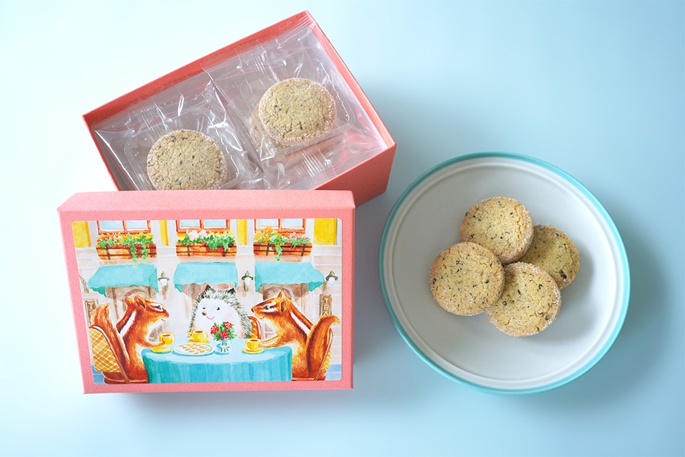 「西光亭 北欧紅茶のクッキー セーデルブレンド」について