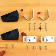 木製ロフトはしご北欧ラダー用金具フルセット