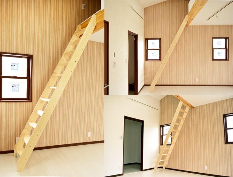 北欧産デザインステップ木製ロフト階段のデッドスペース活用術