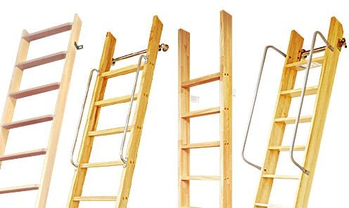 カテゴリー:木製ロフトはしご