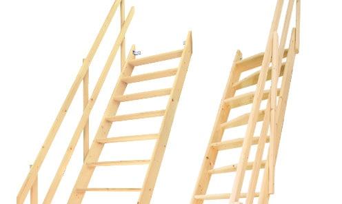 カテゴリー:木製ロフト階段