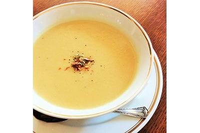 写真:季節のポタージュスープ