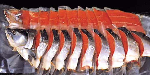 極上紅鮭姿切身