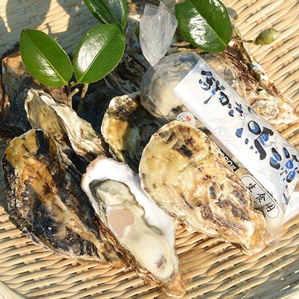 ひと粒牡蠣から付10個と『鳴瀬牡蠣』むき身300gセット ★送料無料★