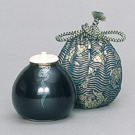 茄子茶入 | 茶入 - 抹茶と茶道具の芳香園
