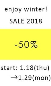 enjoy winter SALE 2018!