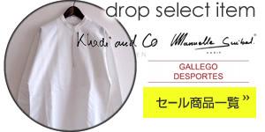 drop select itemsはこちら