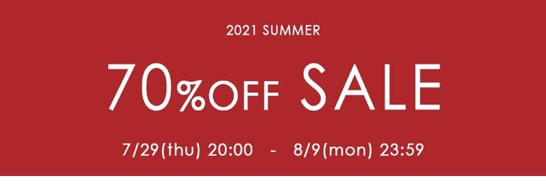 2021 SUMMER SALE!!