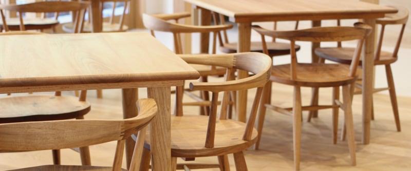 家具職人の手作り椅子