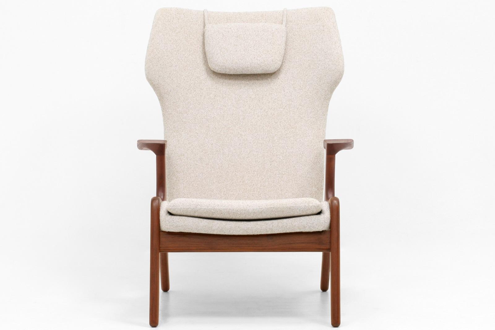 アウトレット,ハイバックチェア,ハーフアーム,椅子,北欧,デンマーク,クロッケン