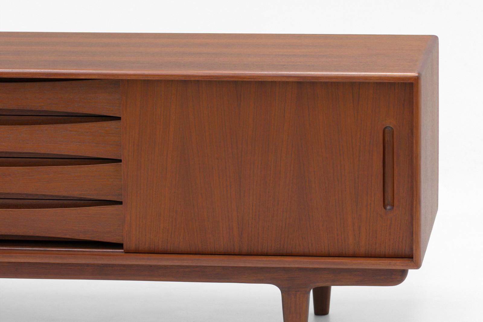 北欧,テレビボード,デンマーク,クロッケン,家具,チーク材