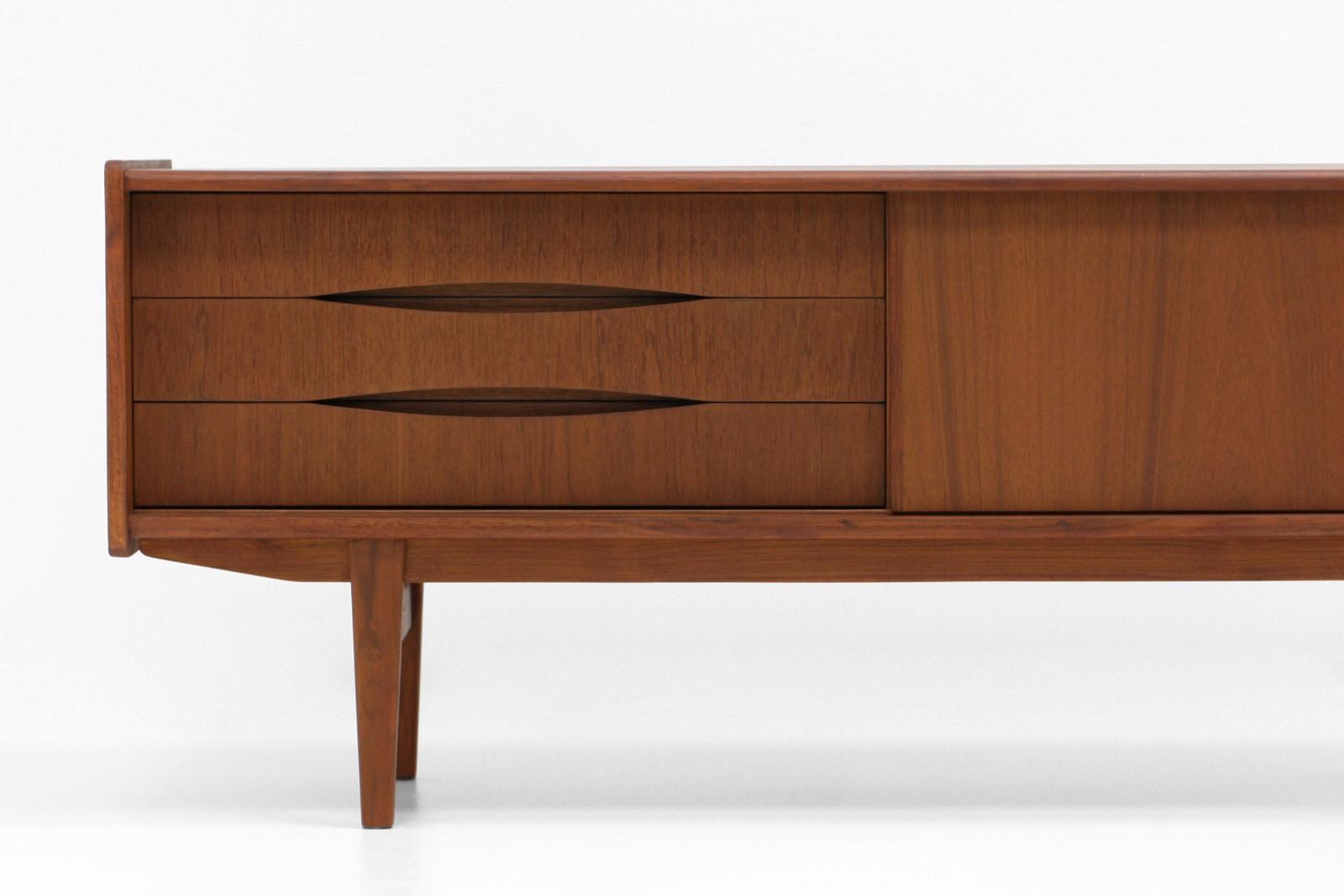 北欧,デザイン,家具,クロッケン,小さい,サイドボード,テレビボード