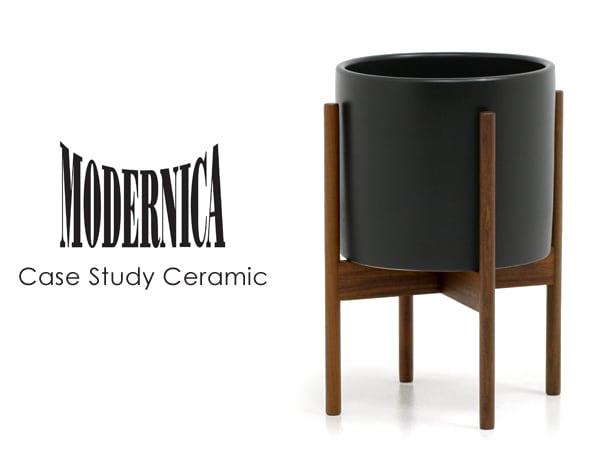 MODERNICA,モダニカ,Ceramic,セラミック,フラワーベース,植木鉢,北欧,陶器,木製,ミッドセンチュリー,デザイン