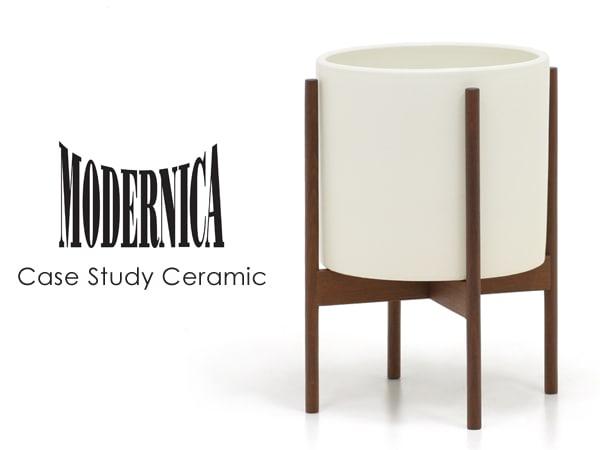 MODERNICA,モダニカ,Ceramic,セラミック,フラワーベース,北欧,木製,陶器,白,モダン,シンプル