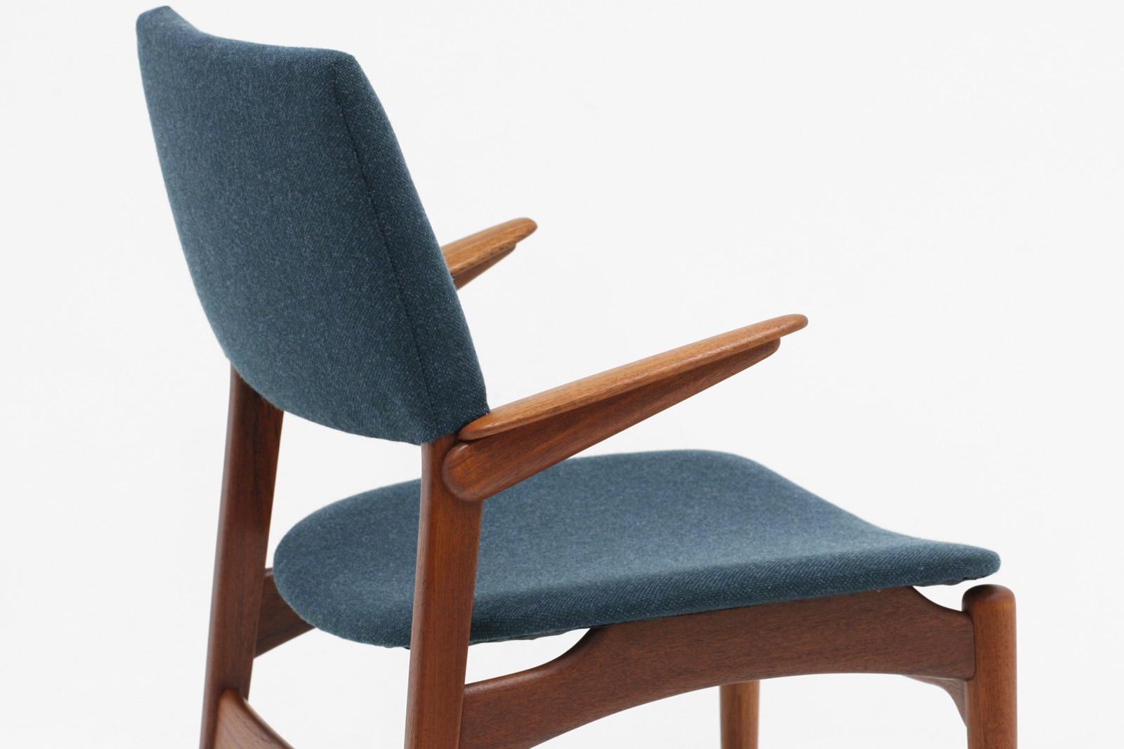 クヌードセン,model48,ハーフアームチェア,ヴィンテージ,北欧家具