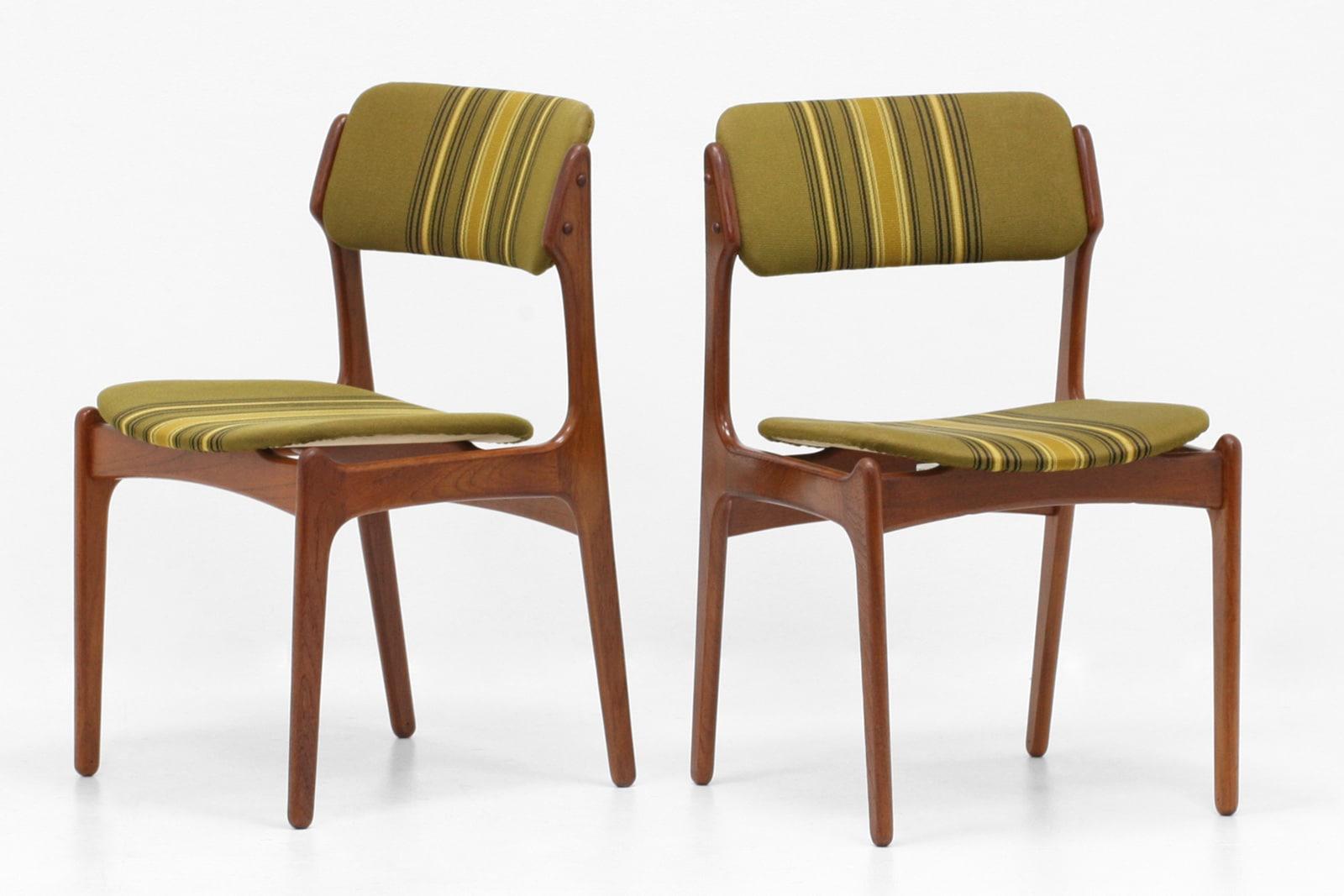 北欧,デザイナーズ,家具,ErikBuch,model49,チェア,2脚,セット