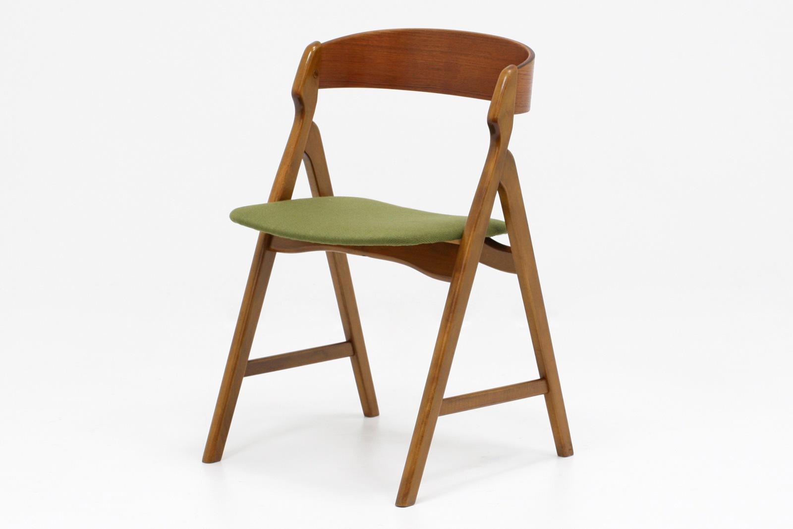 ヴィンテージ,北欧,椅子,Henning Kjarnulf,ヘニング・ケアヌルフ