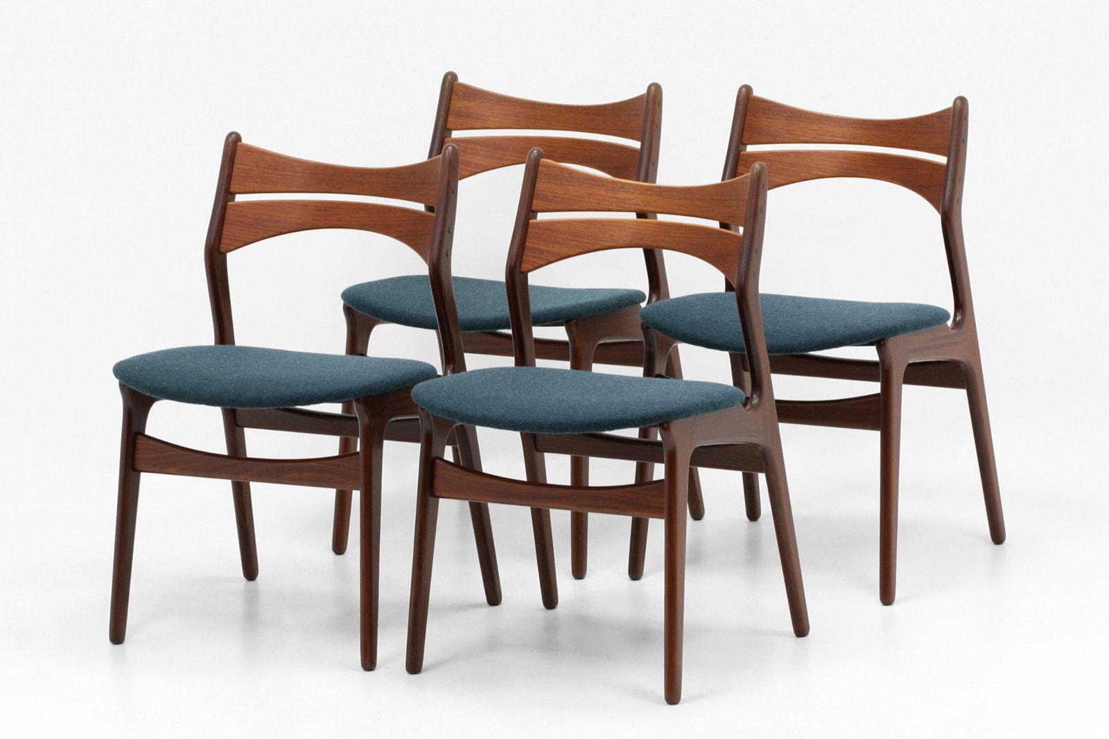 北欧,デザイナーズ,家具,エリックバック,model310,4脚,セット