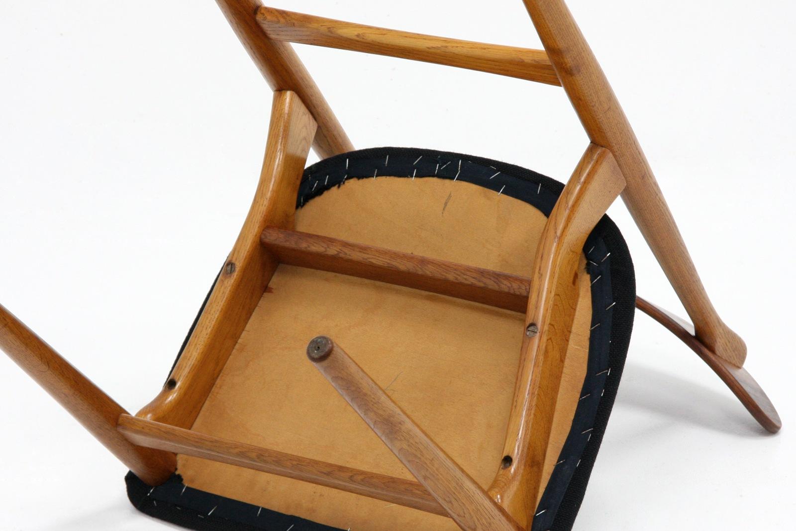 北欧,椅子,ダイニングチェア,黒,ヴィンテージ