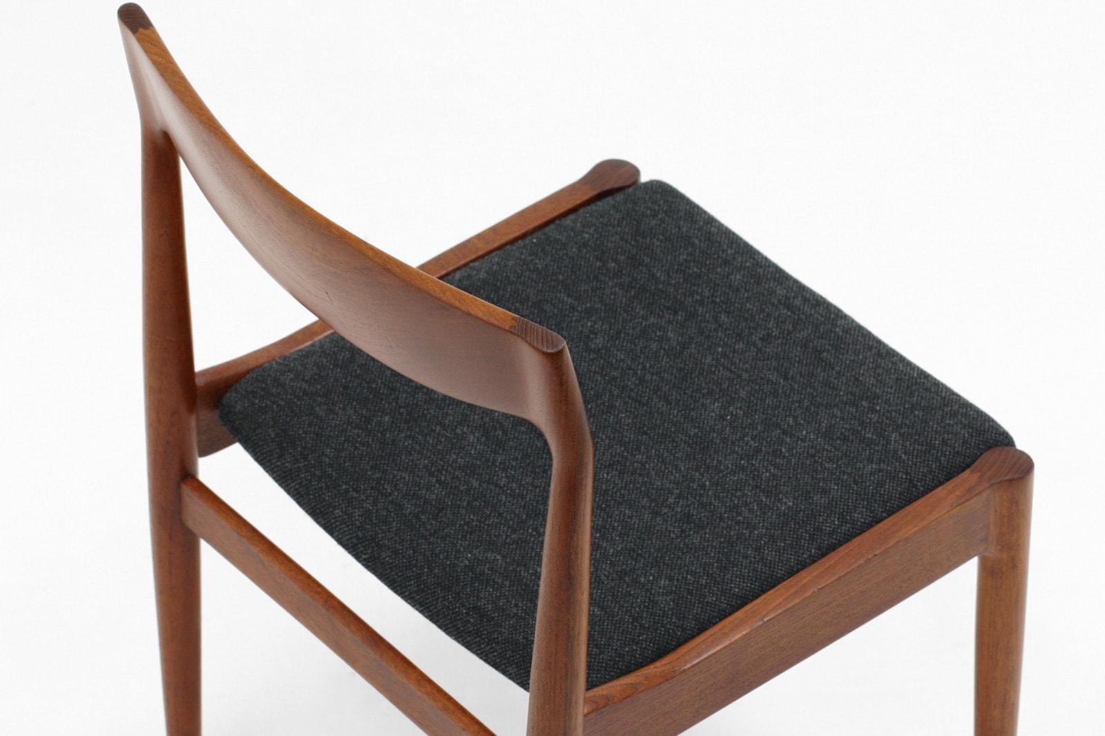 北欧,Bramin,チーク無垢材,椅子